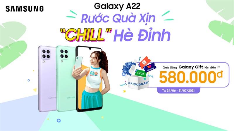 mua galaxy a22 chính hãng giá rẻ