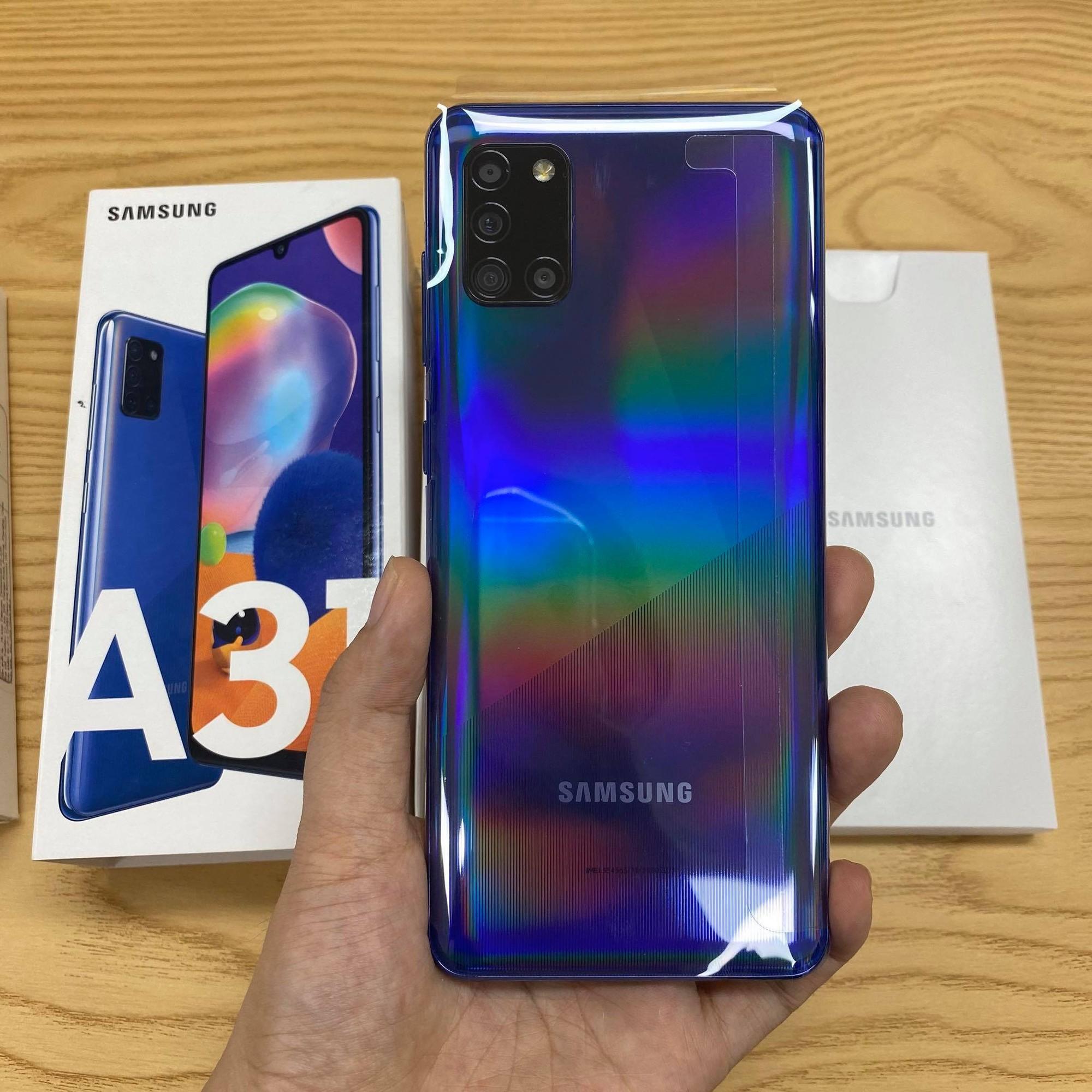 Mua Galaxy A31 chính hãng giá rẻ tại MinMobile