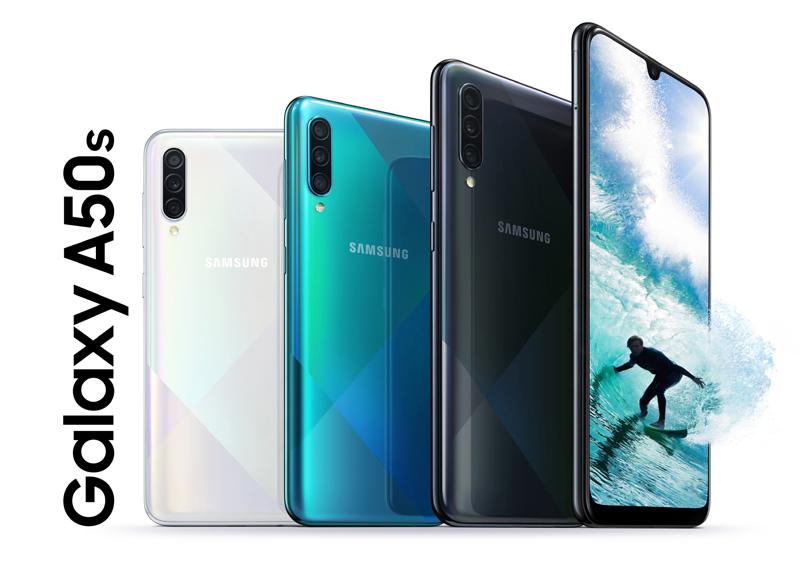 Samsung Galaxy A50s chính hãng tại Minmobile