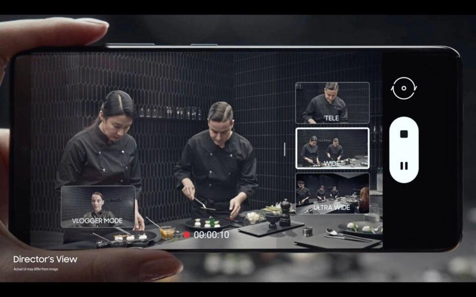 Tính năng Director's View thú vị trên Galaxy S21 Plus 5G