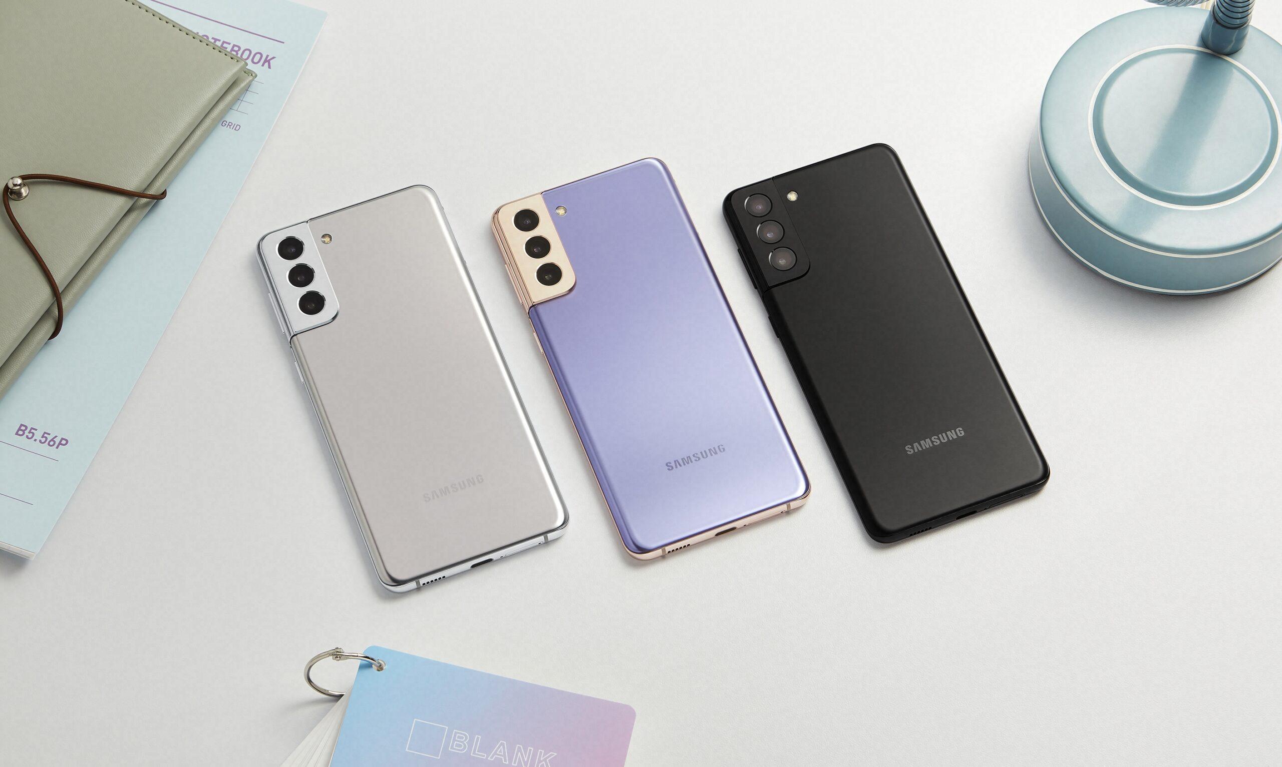 Các phiên bản màu sắc của Galaxy S21 Plus 5G