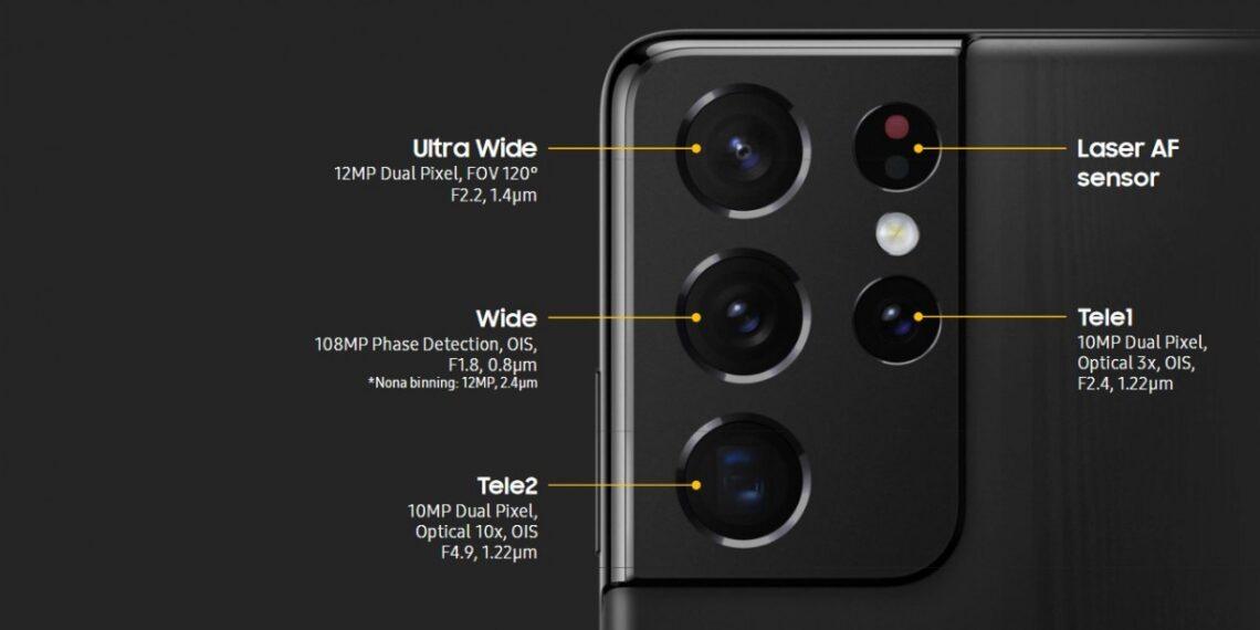 Camera Galaxy S21 Ultra chính hãng việt nam