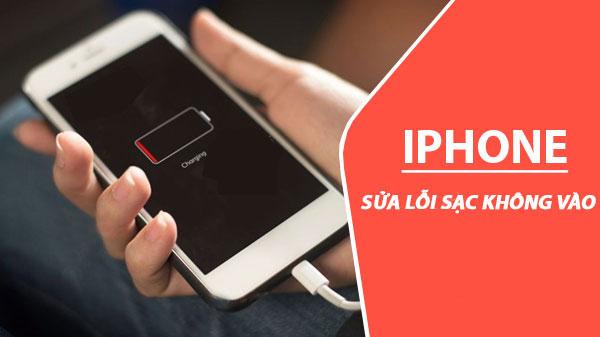 Không thể sạc pin cho iPhone