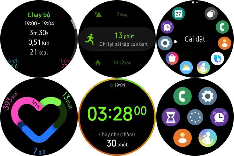 Đồng hồ thông minh Galaxy Watch Active 2 40mm bản Thép