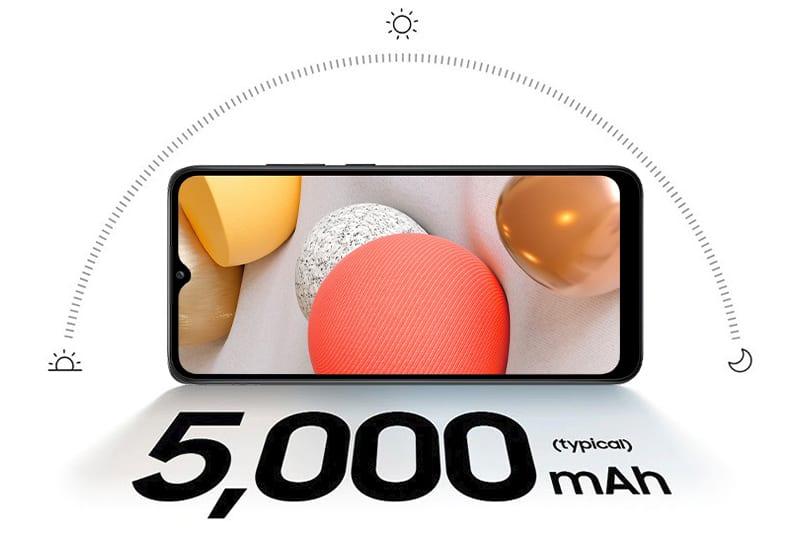 Dung lượng pin Galaxy A02s