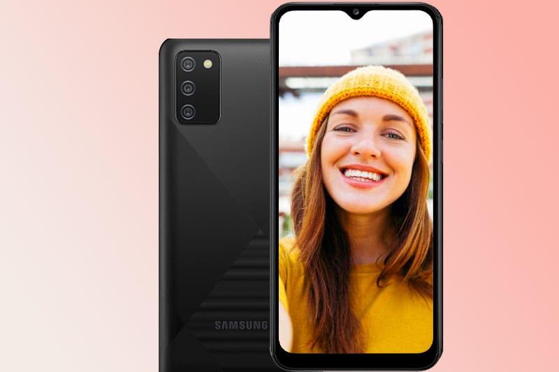 Camera Selfie trên Galaxy A02s