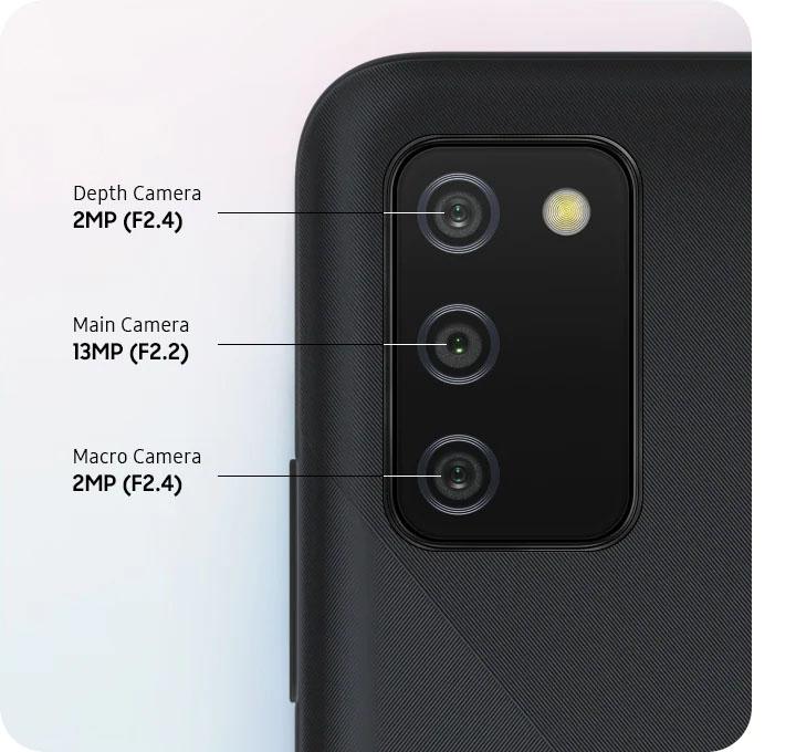 Camera Galaxy A02s
