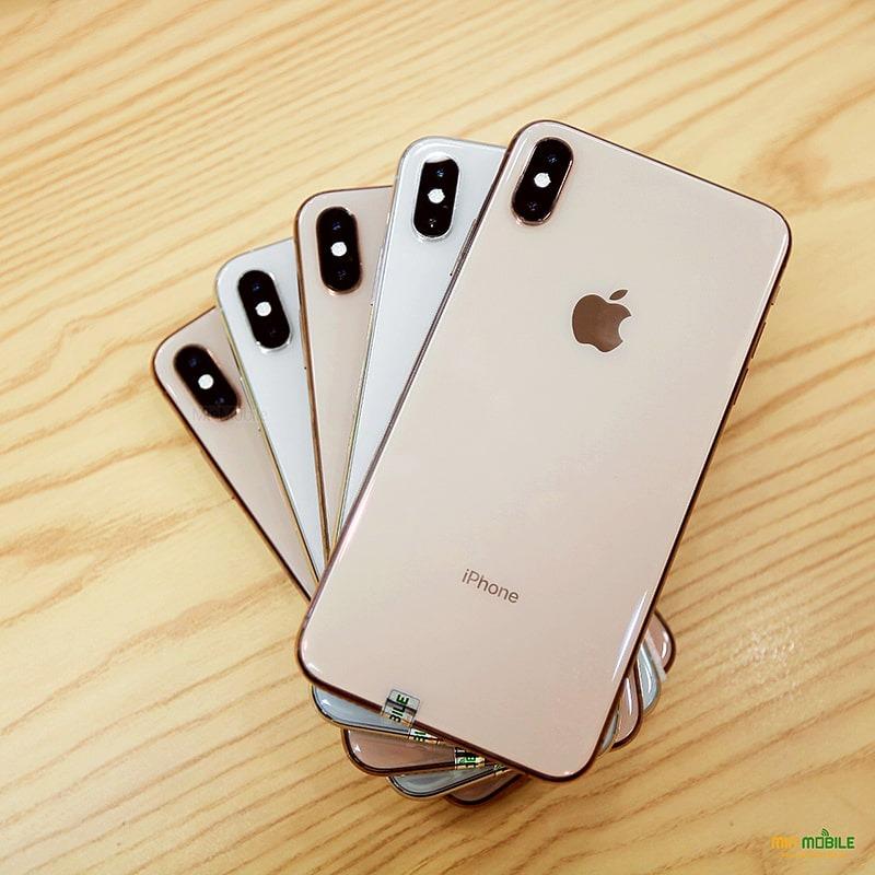 Thiết kế sang trọng của iPhone Xs Max với phiên bản màu gold đặc trưng