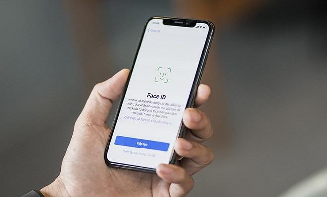 FaceID trên iPhone Xs Max