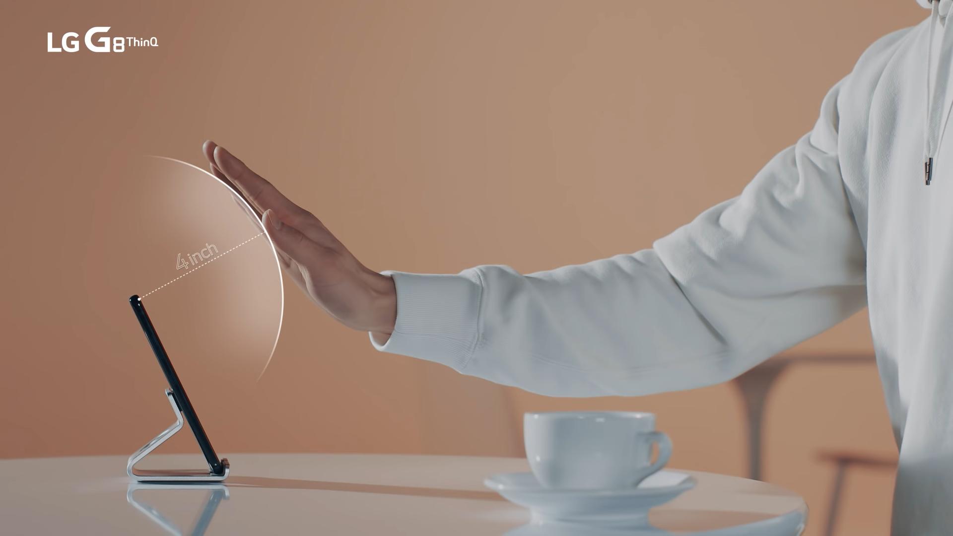 Cử chỉ điều hướng Air Motion trên LG G8 ThinQ
