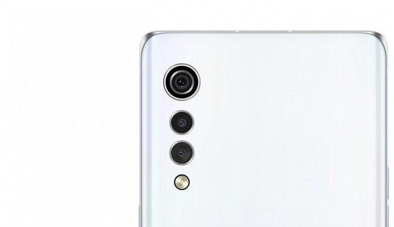 Cụm camera giọt nước trên LG Velvet giá rẻ