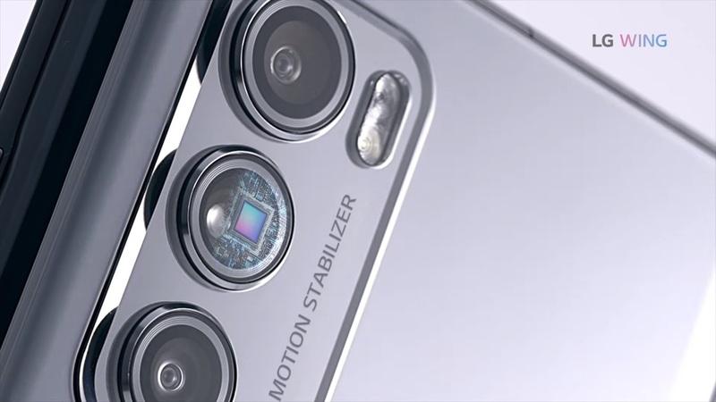 Camera của LG Wing