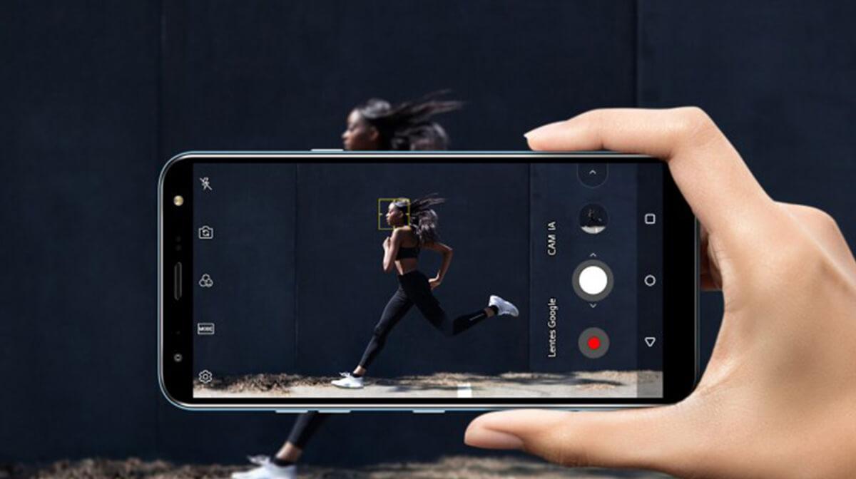 Trải nghiệm chân thực với camera LG X4