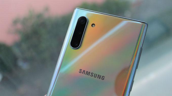 Cụm camera của Galaxy Note 10 5g