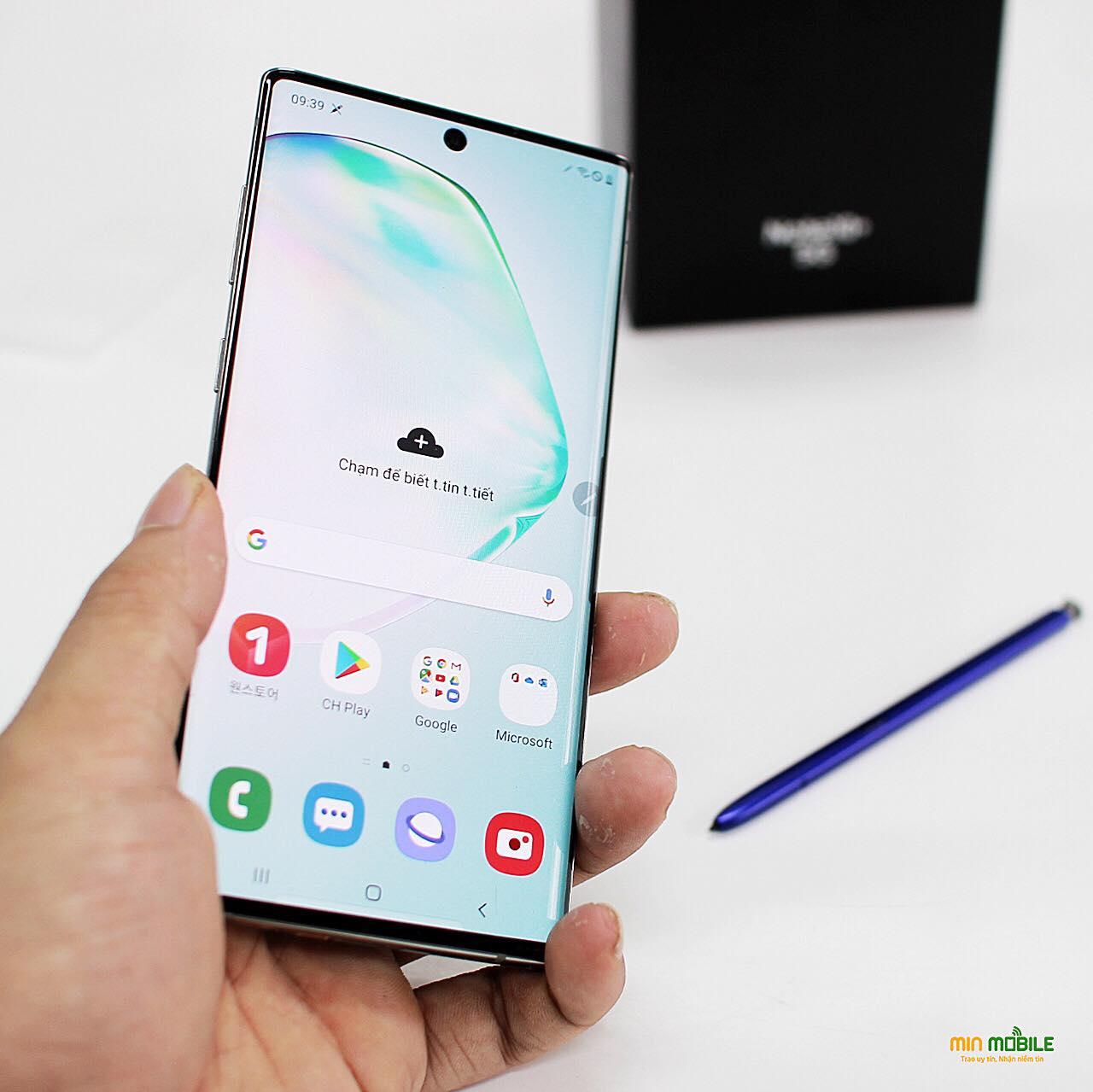 Màn hình Infinity-O của Galaxy Note 10 5G