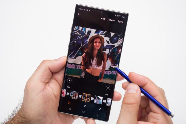 Chỉnh sửa ảnh nhanh chóng trên Galaxy Note 10