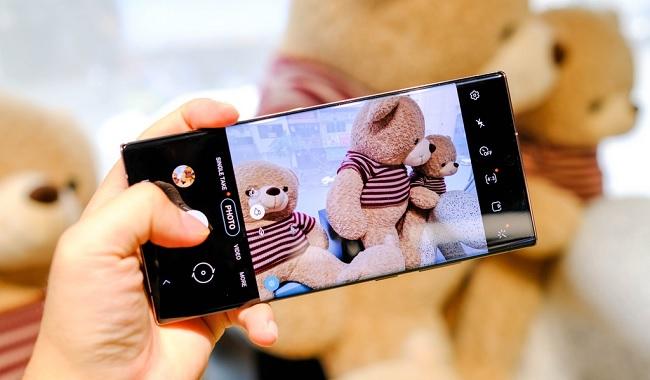 Camera Note 20 Ultra 5G nhiều cải tiến