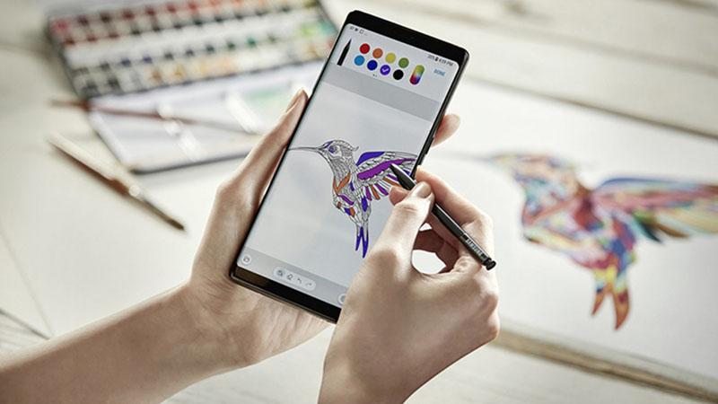 Bút S Pen trên Galaxy Note 20