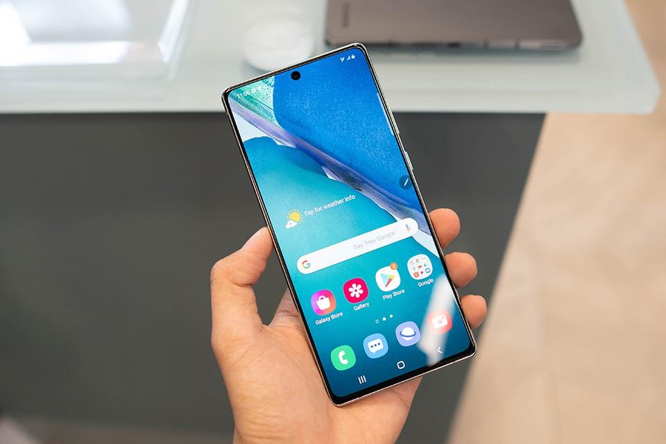 Màn hình Samsung Galaxy Note 20 5G Hàn Quốc