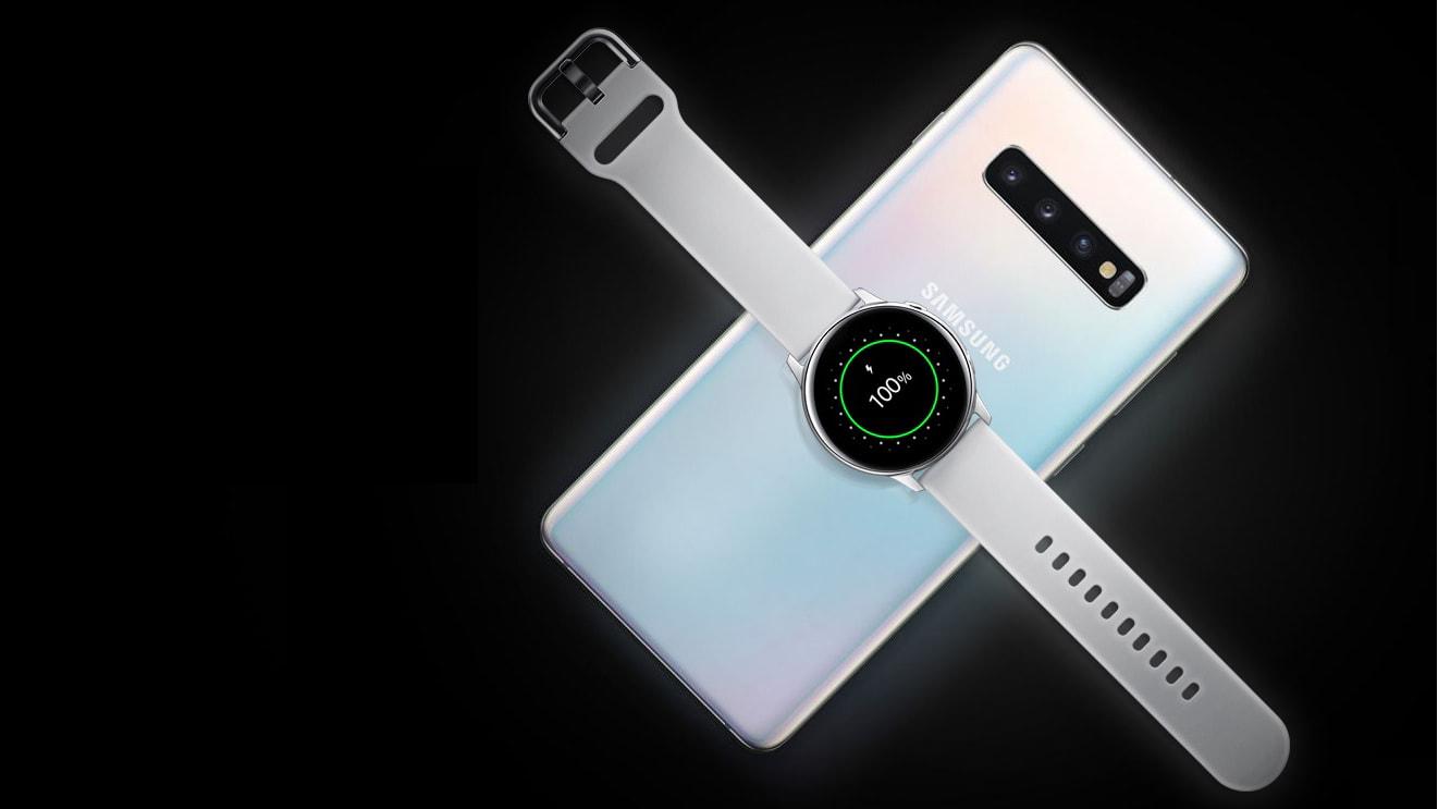 Tính năng sạc ngược không dây của Galaxy S10 Plus