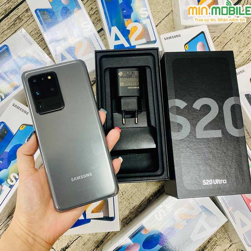 Mua điện thoại Galaxy S20 Ultra cũ giá rẻ bản chính hãng