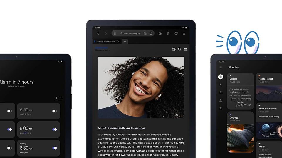 chế độ Dark Mode trên Tab S6 Lite