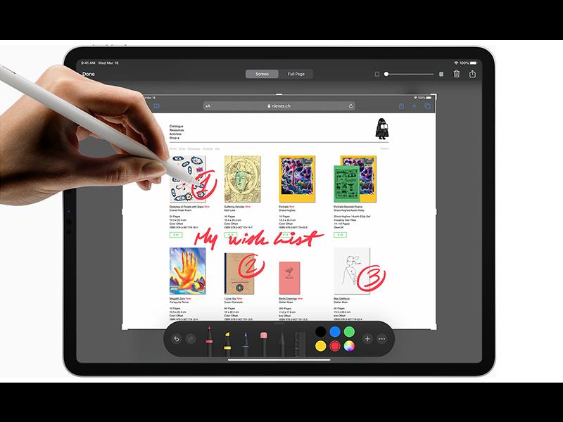xử lý đồ họa với iPad Pro 2020 11 inch