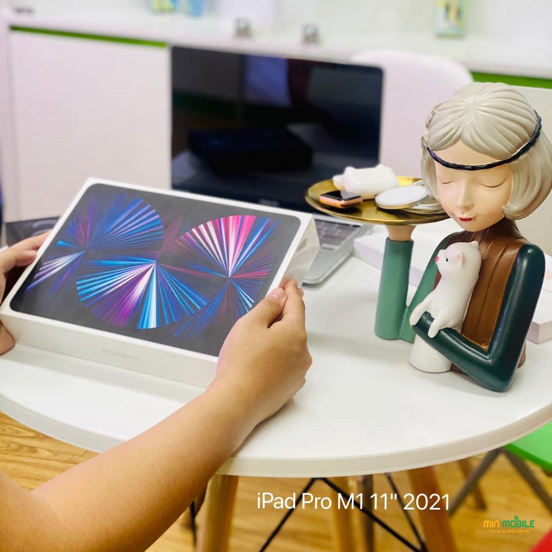 Mua máy tính bảng iPad Pro 2021 mới chính hãng tại MinMobile