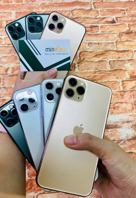 mua iPhone 11 Pro Max 256GB cũ giá rẻ tại Minmobile