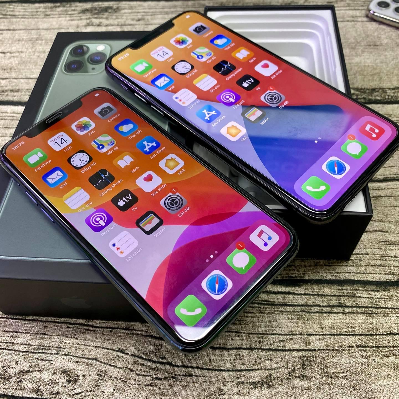 màn hình iPhone 11 Pro Max bản Demo Hàn Quốc