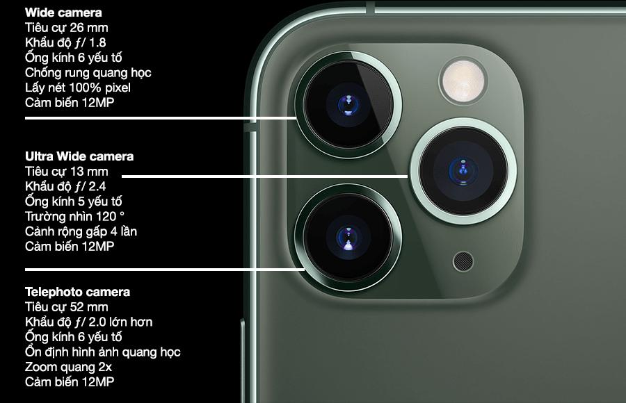 iPhone 11 Pro hàng trưng bày 512GB