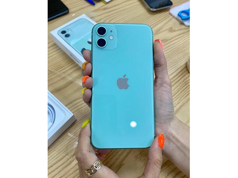 iPhone 11 màu xanh mint cực xinh