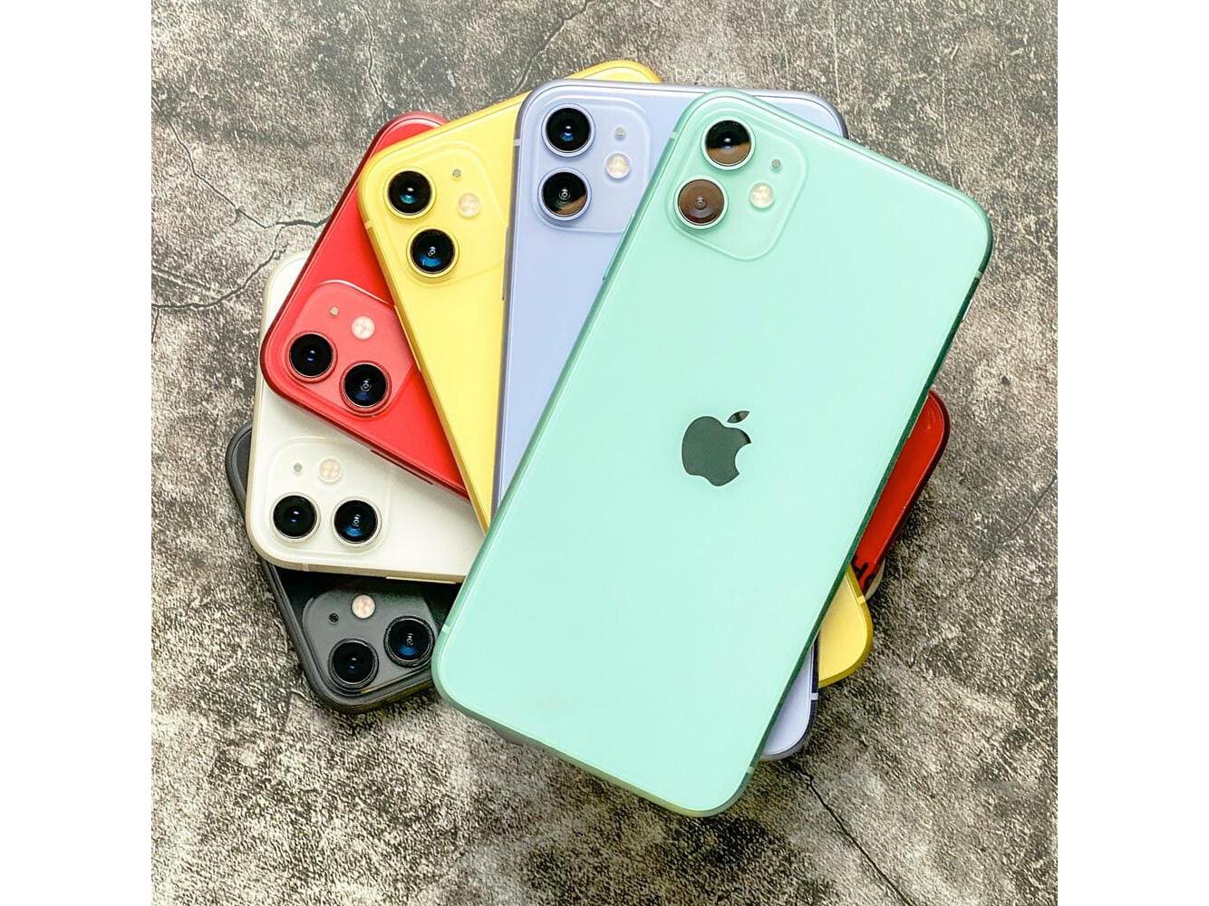 iPhone 11 cũ với đủ các tùy chọn màu sắc