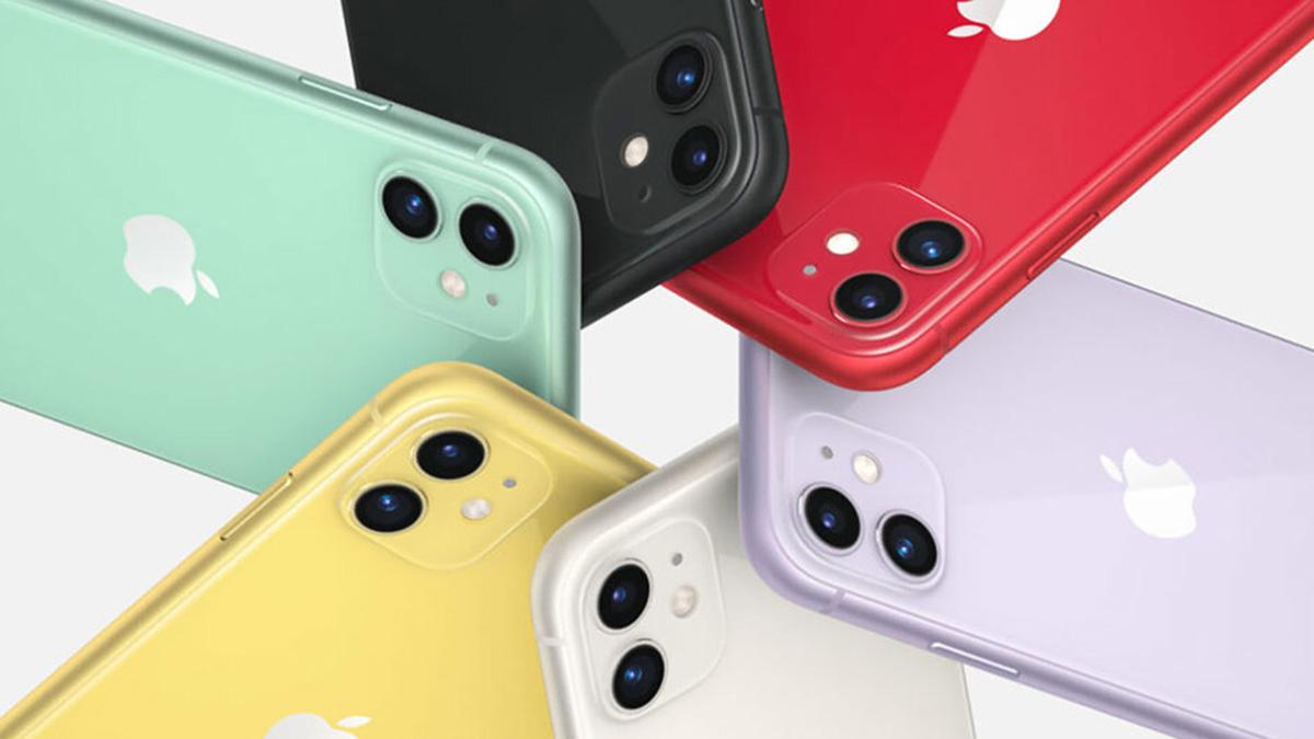 Bộ sưu tập màu sắc của iPhone 11