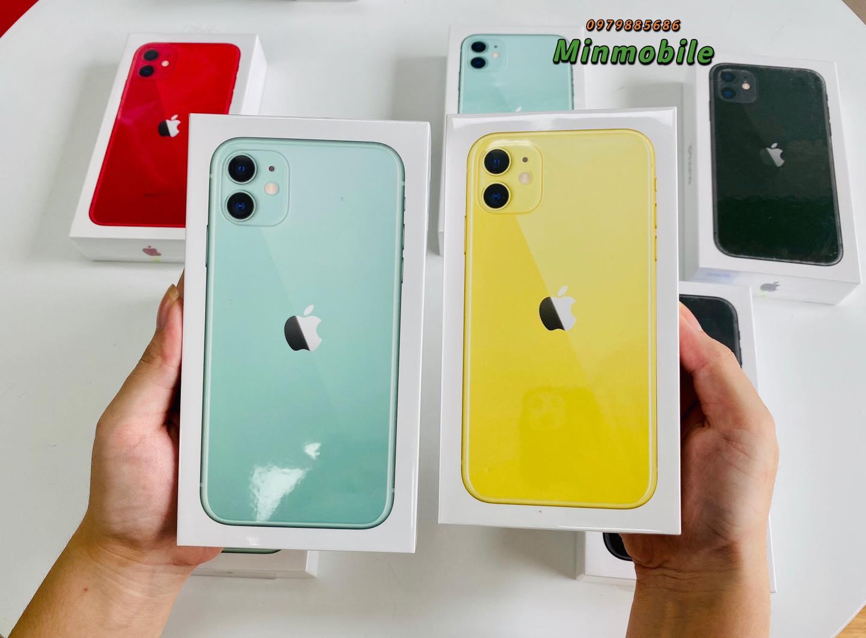 Mua iPhone 11 64gb mới giá rẻ tại Hải Phòng