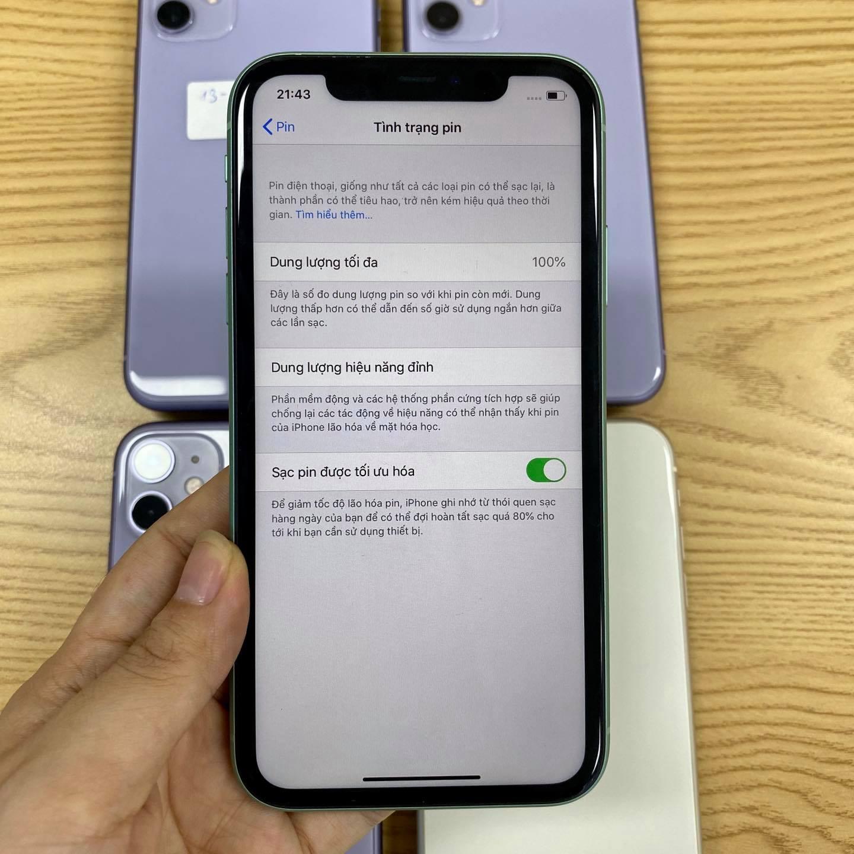 Pin iPhone 11 256Gb cũ
