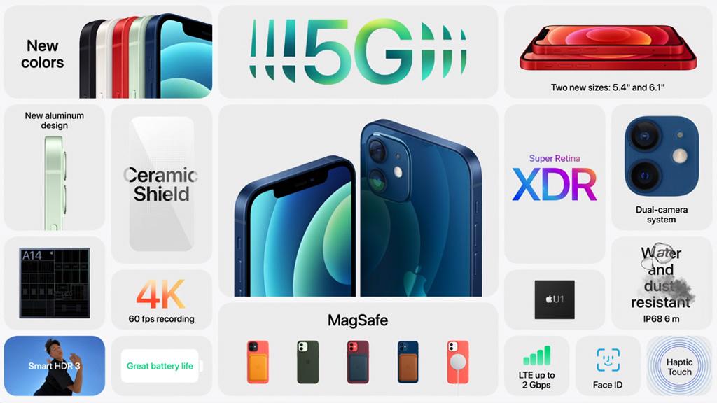 cấu hình iPhone 12 demo 64gb giá rẻ