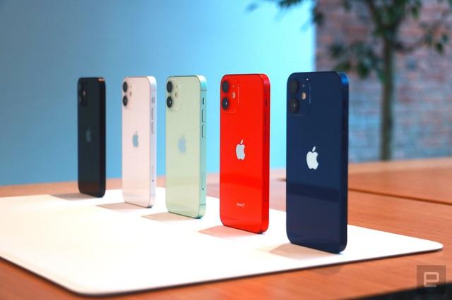 iPhone 12 demo có 5 màu sắc