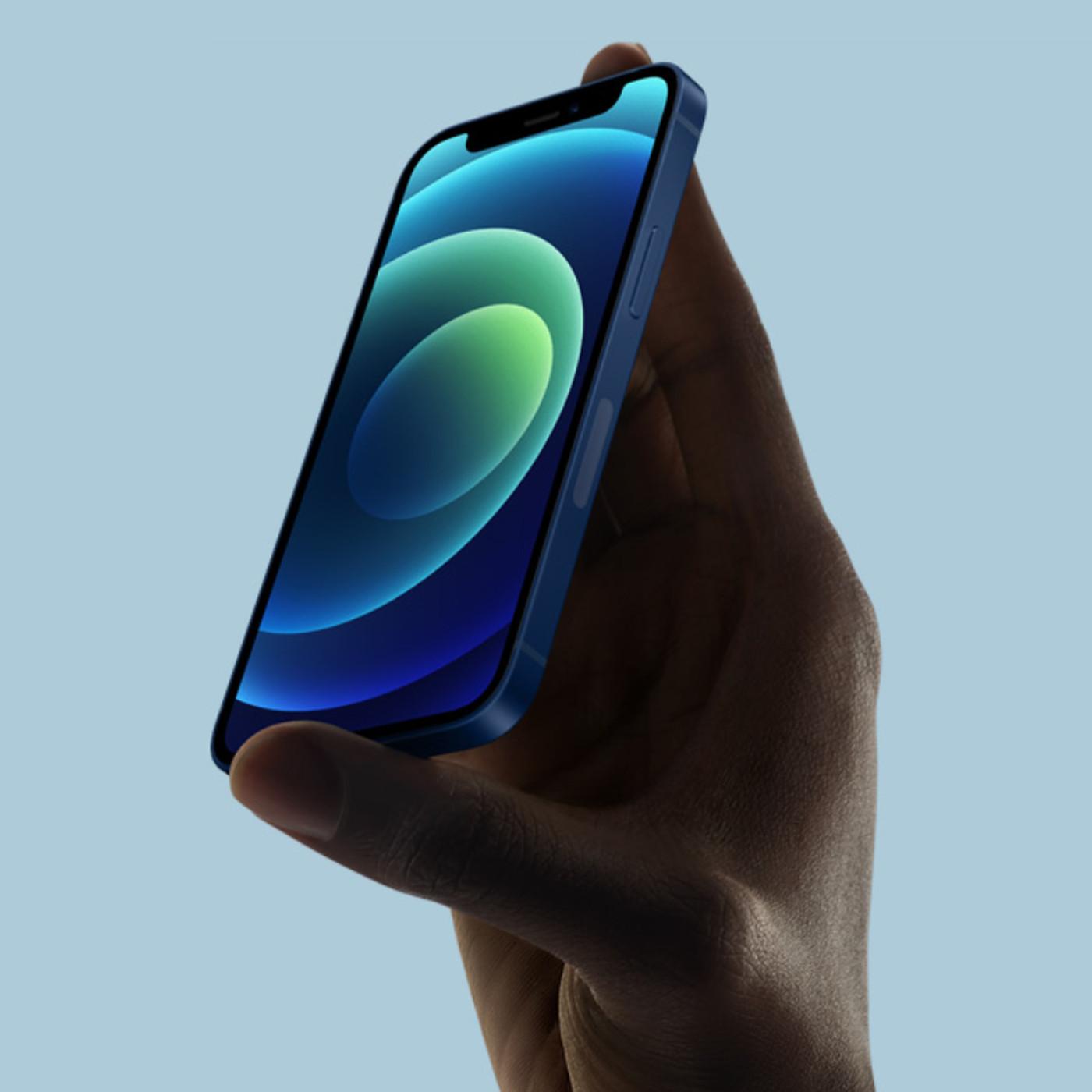 thiết kế vuông vắn của iPhone 12 mini