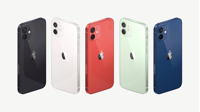 Màu của iPhone 12 Mini