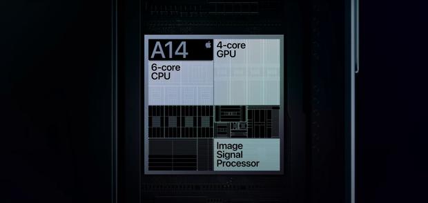 Chip A14 Bionic trên iPhone 12