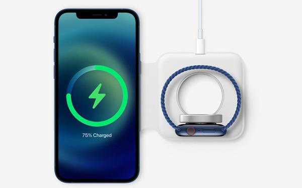 Sạc MagSafe 15W trên iPhone 12