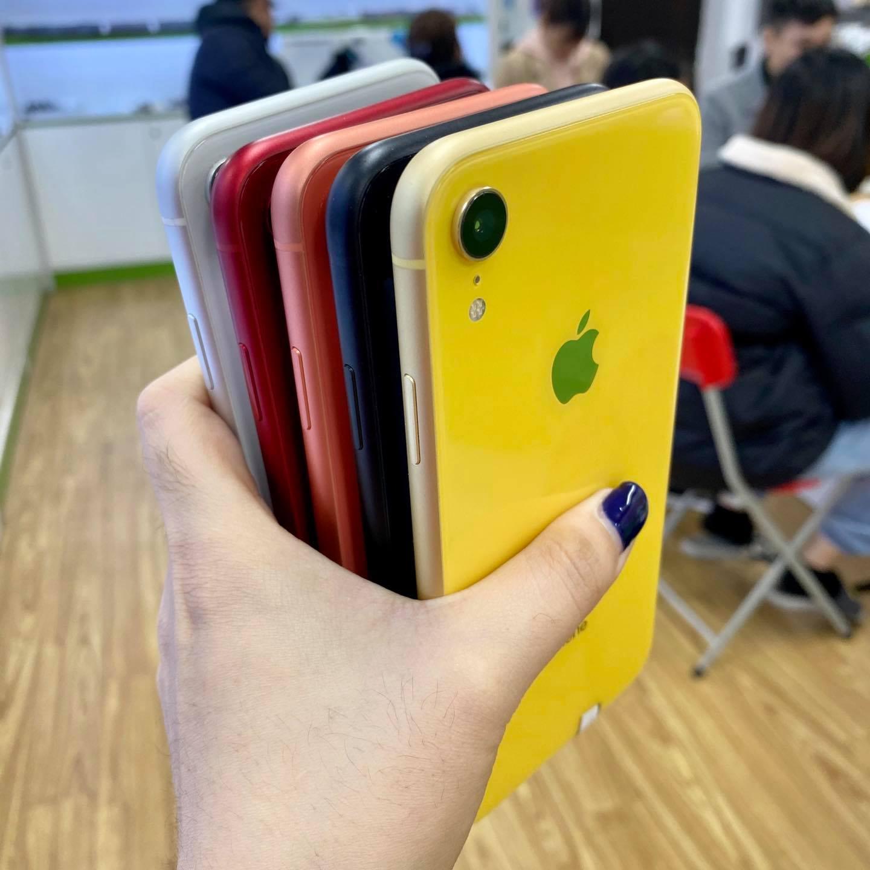 6 tùy chọn màu sắc của iPhone XR