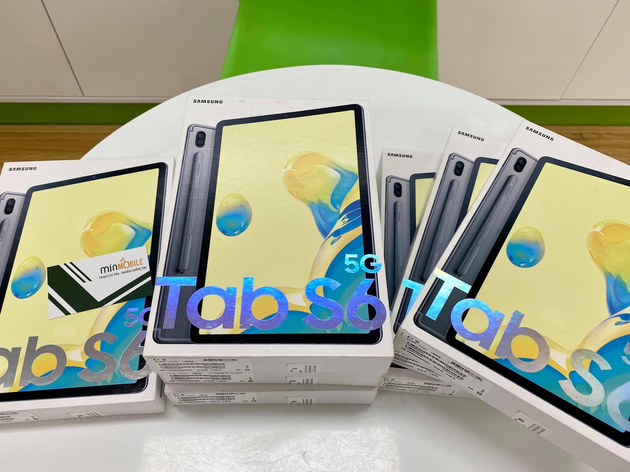 Galaxy Tab S6 5G giá 13.500.000 đang sẵn hàng tại MinMobile