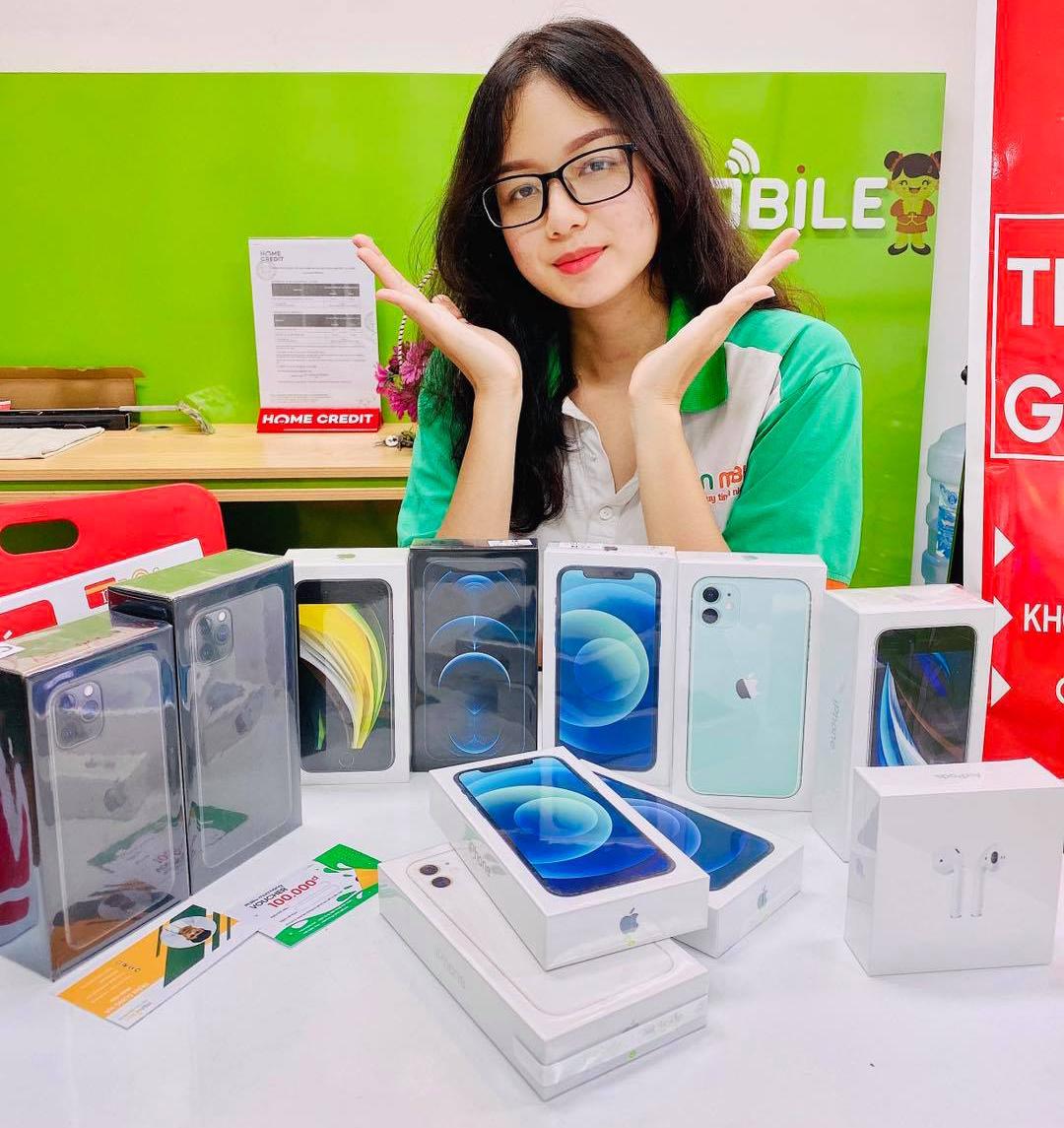 Mua điện thoại iPhone nguyên zin giá rẻ tại Hải Phòng