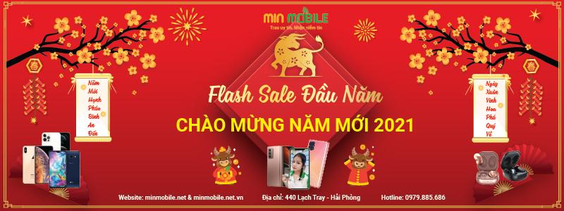Flash Sale Năm Mới Minmobile