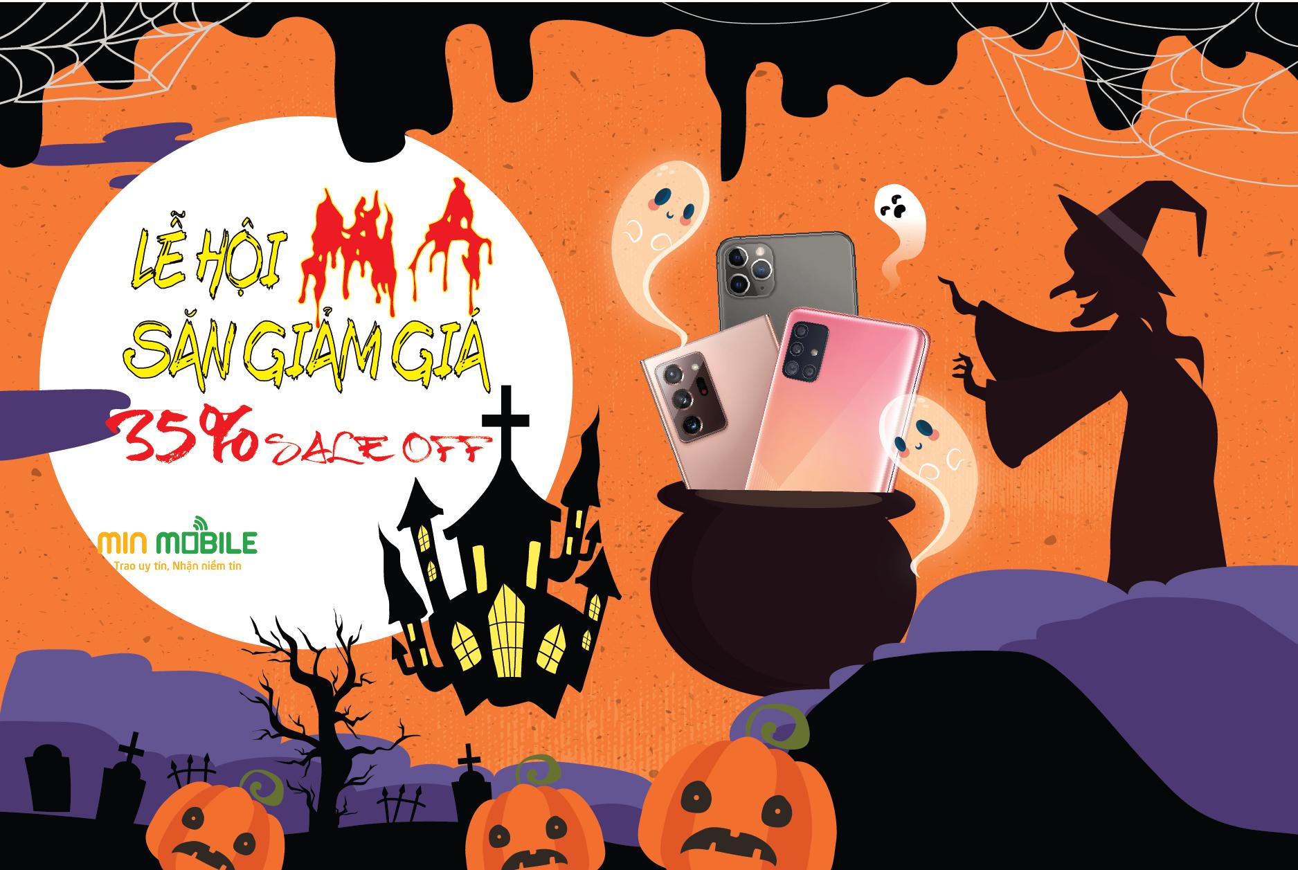 Chương trình lễ hội Halloween giảm giá đến 35%