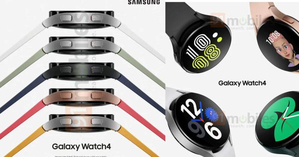 Thiết kế của Galaxy Watch 4 rò rỉ trên mạng