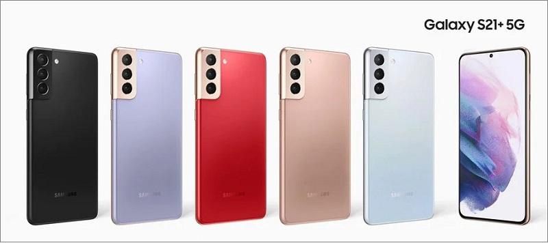 Màu sắc của Galaxy S21 Plus