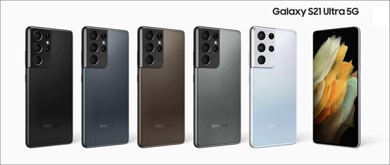 4 màu sắc nổi bật của Galaxy S21 Ultra